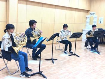 相馬管楽器教室 初めての全員アンサンブル