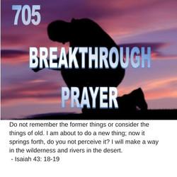 705 Breakthrough a