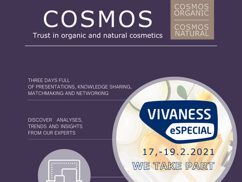 Join us for Vivaness eSPECIAL 2021