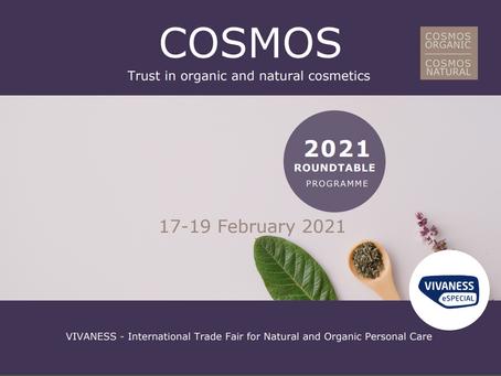 Programme des tables rondes COSMOS pour VIVANESS eSPECIAL 2021