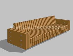 Серия 01 Парковый диван-1-Water-1