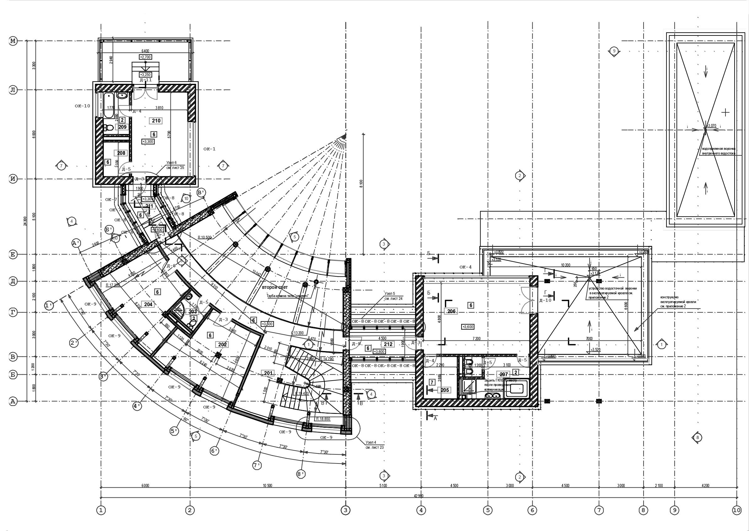 2004 Сколково  план 1-го эт