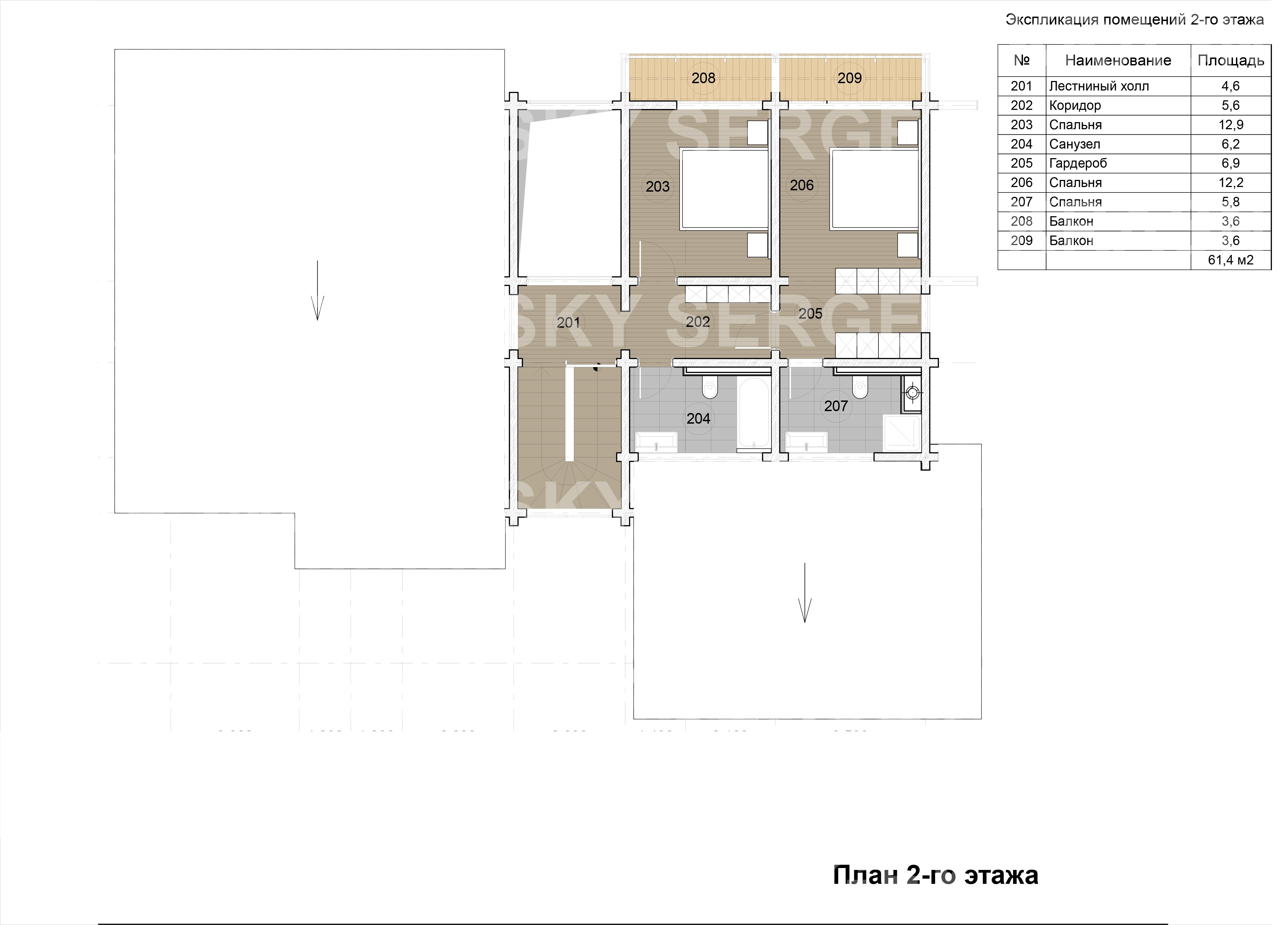 02 План 2-го этажа сайт