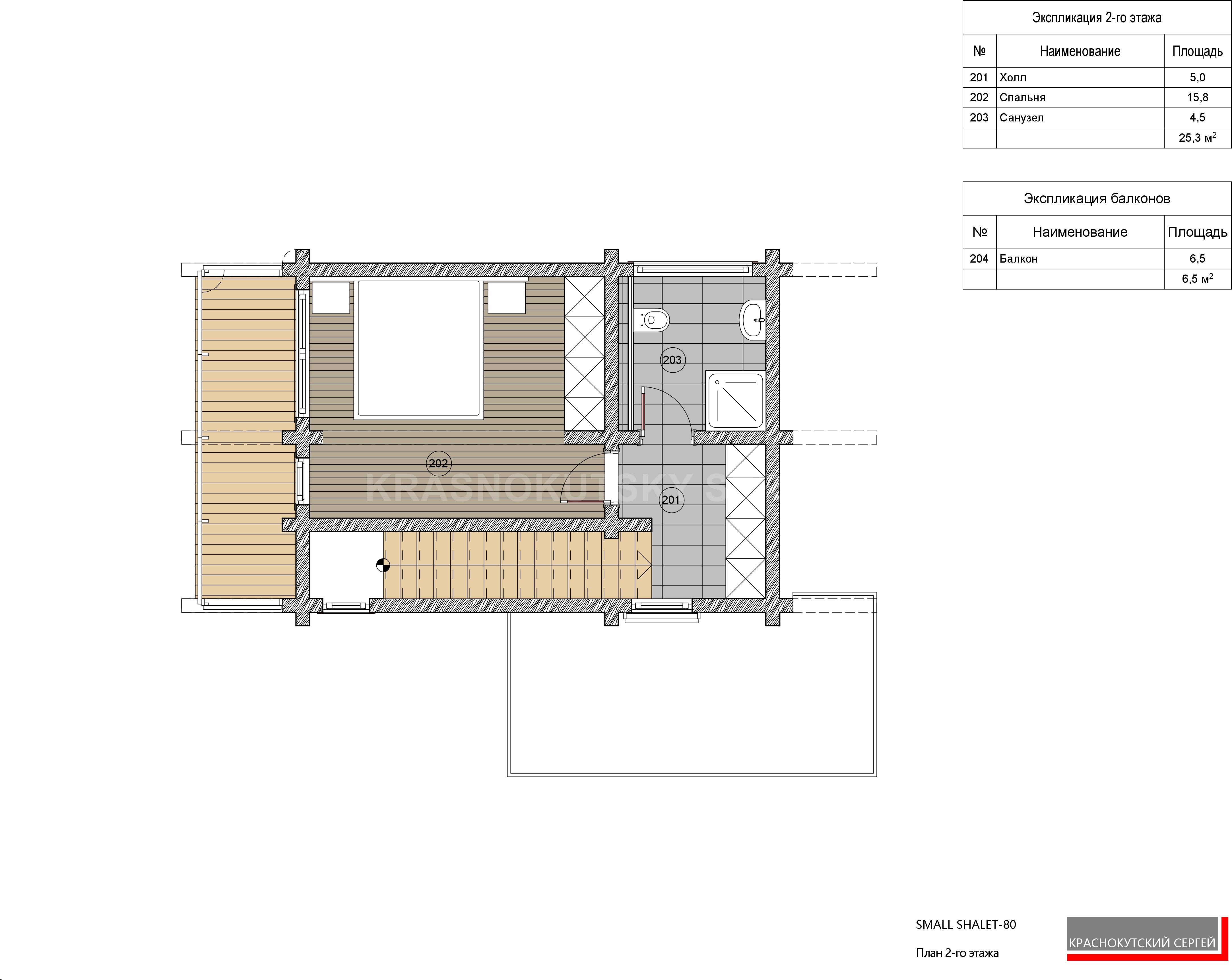 SMALL SHALET-60 (на сайт)Планы этажей без разм-2-Water