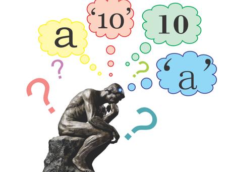 Variáveis I: numéricas e de caracteres