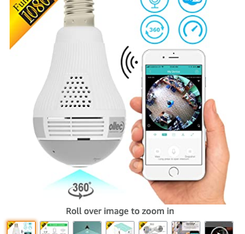 Best 5 Light Bulb Secret Camcorder