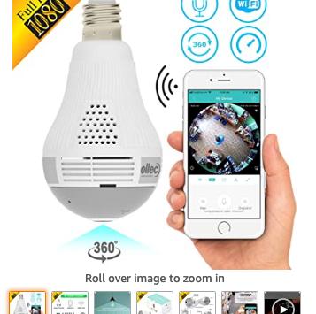 Best 5 Light Bulb Secret Camcorder