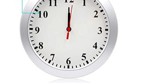 Best Clock with a Motion Detecting Hidden Camera