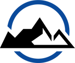 Modern - Blue Circle Black Moutains.png