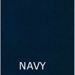 "NAVY 36"" LONG BED SKIRT"