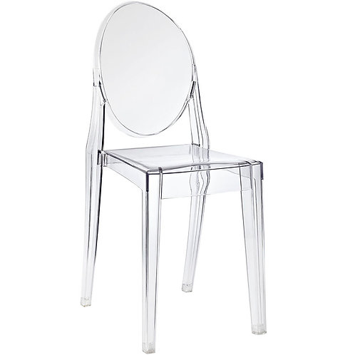 Armless Ghost Chair