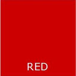 "RED 36"" LONG BED SKIRT"
