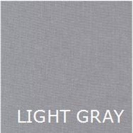 """LIGHT GRAY 36"""" LONG BED SKIRT"""
