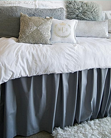 Dorm Room Couture Custom Bedding. Dorm Room Couture Custom Bed Skirt Part 16