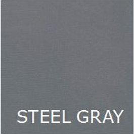 """STEEL GRAY 36"""" LONG BED SKIRT"""