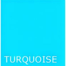 """TURQUOISE 36"""" LONG BED SKIRT"""
