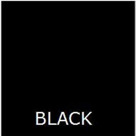 """BLACK 36"""" LONG BED SKIRT"""