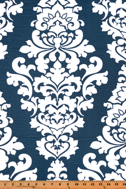 Berlin Print-Navy   SHOP BY FABRIC