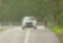 Typical car passing cyclist SSGD image A