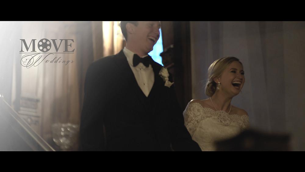 Kansas City Wedding videographer - Loose Mansion Grand Entrance