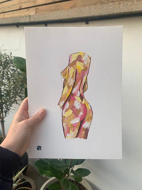 A4 Emrata Body in Yellow
