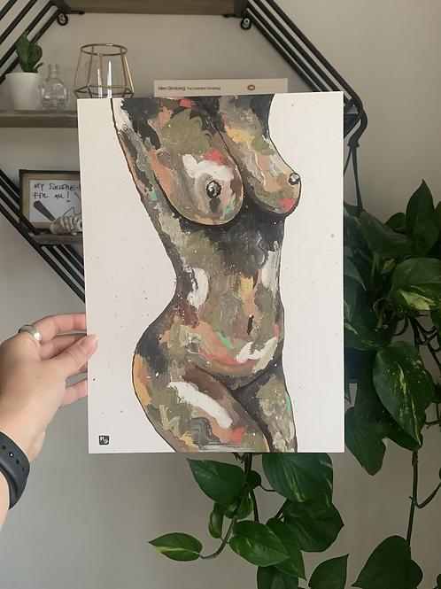 A4 'Olive' Print