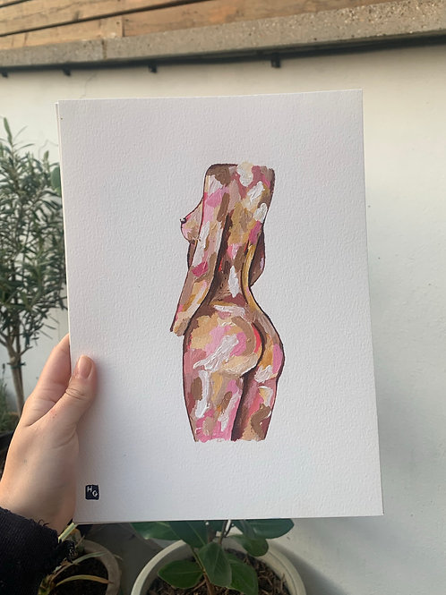 A4 Emrata Body in Pink