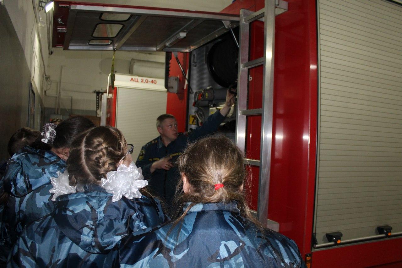 Экскурсии в пожарную часть