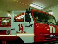 Пожарная часть на Московском