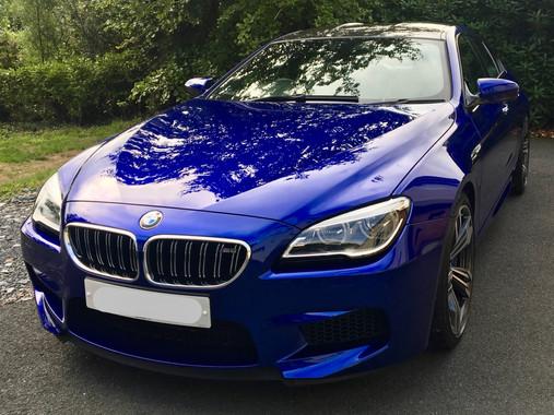 Blue BMW M6