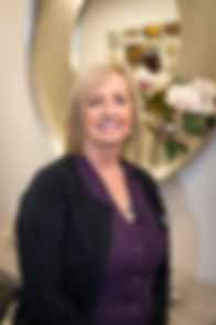 Receptionist Olive McGowan