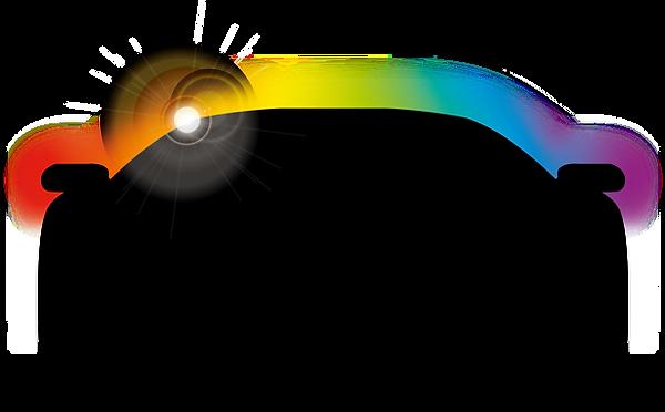 LifeShine car silhouette-glow