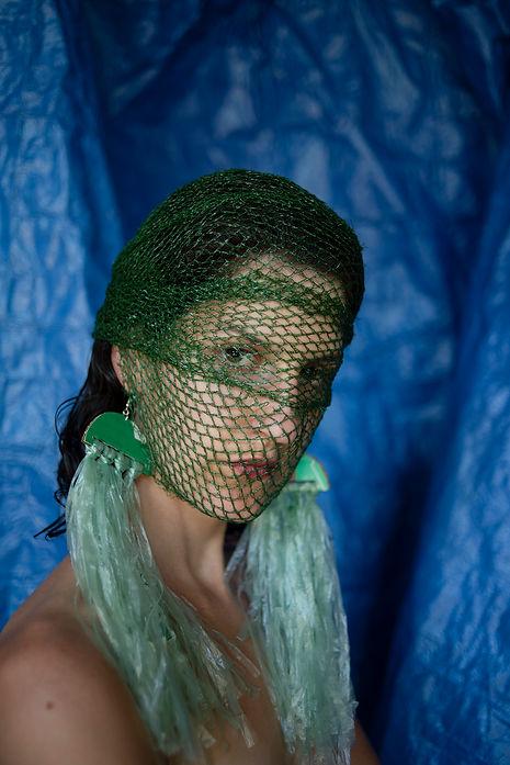 Refashioned Garbage: Avocado Netting & Plastic Bag