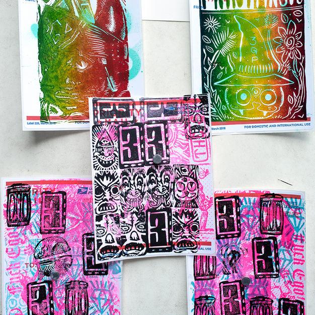 3 Gatos Press (stickers)