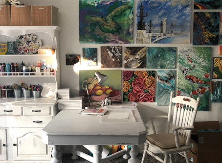 A Tour of my Studio