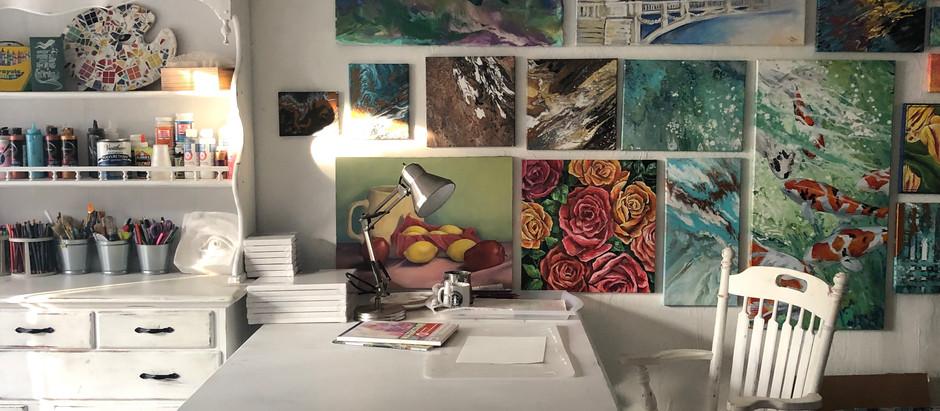 A Tour of my Studio