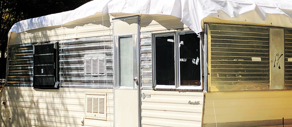 Finding a Vintage Tiny House- 1965 Kenskill Trailer