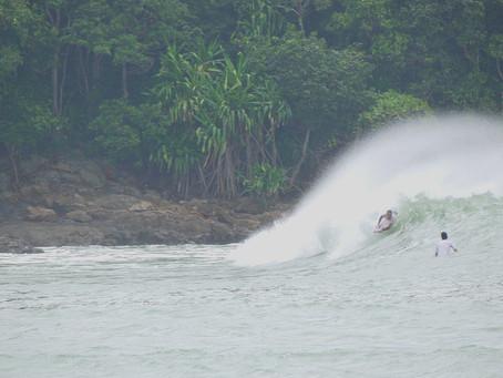 Bodyboard en el Mar Chino...