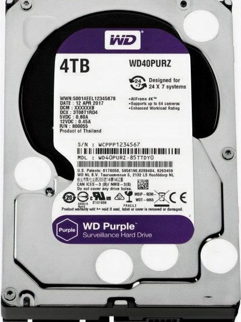 Жесткий диск 4Tb SATA-III Western Digital Purple