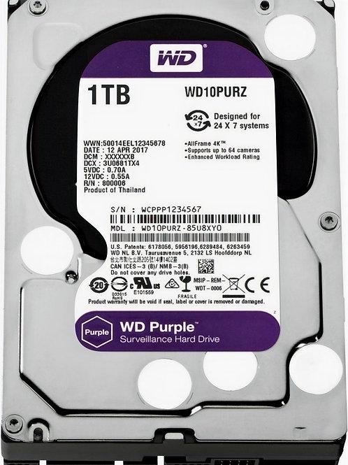 Жесткий диск Western Digital WD Purple 1 TB