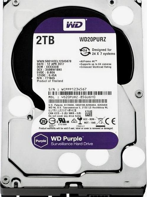 Жесткий диск 2Tb SATA-III Western Digital Purple