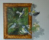 3 D Ölbild