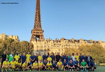 Très Large Victoire du Variétés Club de France contre l'Équipe de France des Parlementaires.