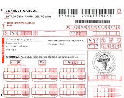 Scarlet Carson - Recipe