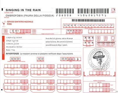 Singing in the rain - Recipe
