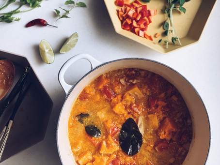 thai butternut squash soup 泰式南瓜濃湯