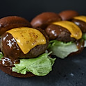 Cheese Steak Sliders (3pcs)