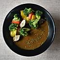 Mixed Sauteed Veg Curry Rice