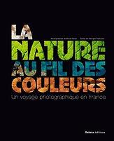 couverture la nature au fil des couleurs
