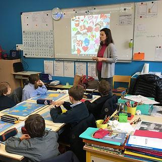 Atelier origami à l'école Libellule & Sakura